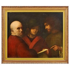 "Italian School ""The Three Ages of Many"" Copy 18th Century by Giorgione"
