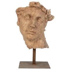 Italian Sculpture Greek Mask, 20th Century