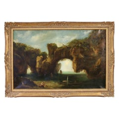 Italian Seascape Painting from the 19th Century