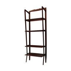 Italian Self-Supporting Beech Bookcase, 1960s