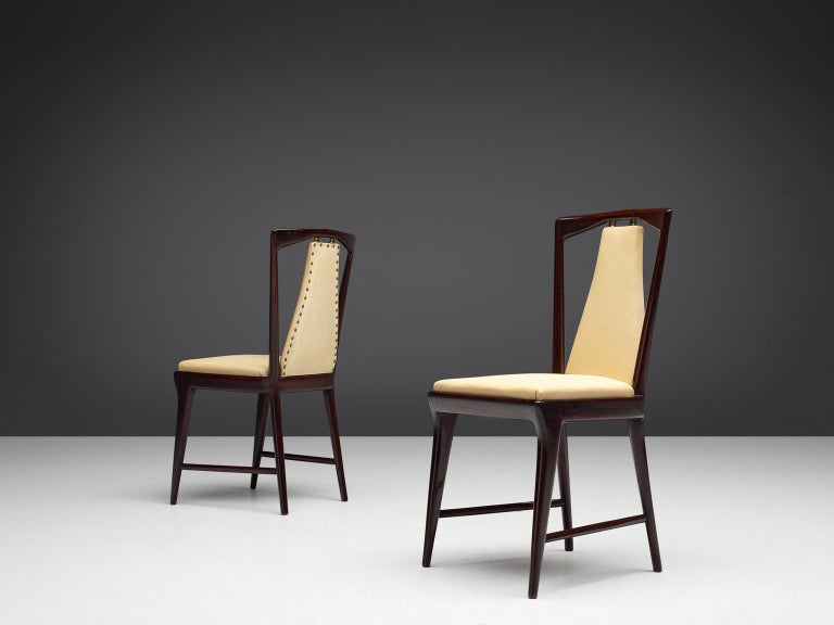 Italian Set of Dining Chairs, 1950s In Good Condition In Waalwijk, NL