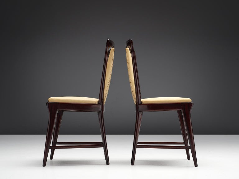 Mid-20th Century Italian Set of Dining Chairs, 1950s