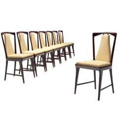 Italian Set of Dining Chairs, 1950s