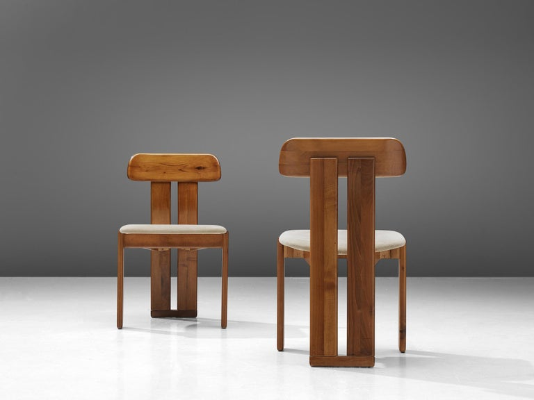 Italian Set of Six Dining Chairs by Sapporo, 1970s For Sale 1