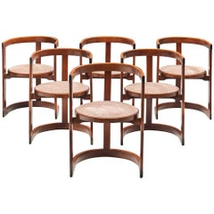 Italian Set of Six Dining Chairs