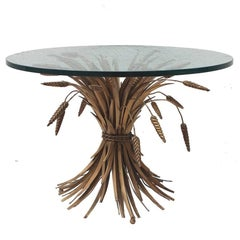 Italian Sheaf of Wheat Cocktail Table Base