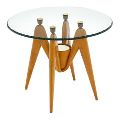 Italian Side Table by Osvaldo Borsani