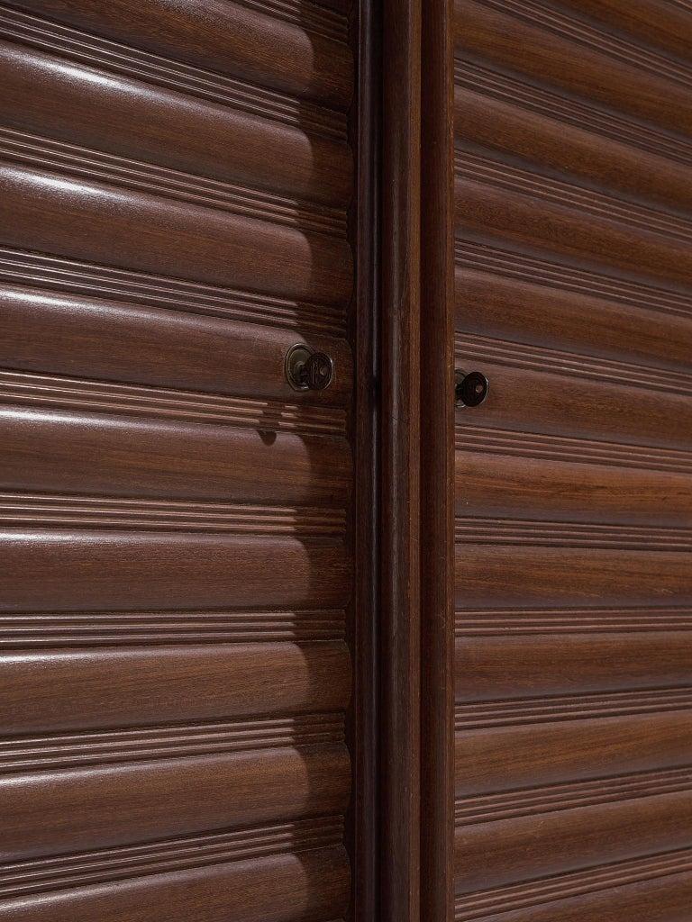 Italian Sideboard in Darkened Oak For Sale 2