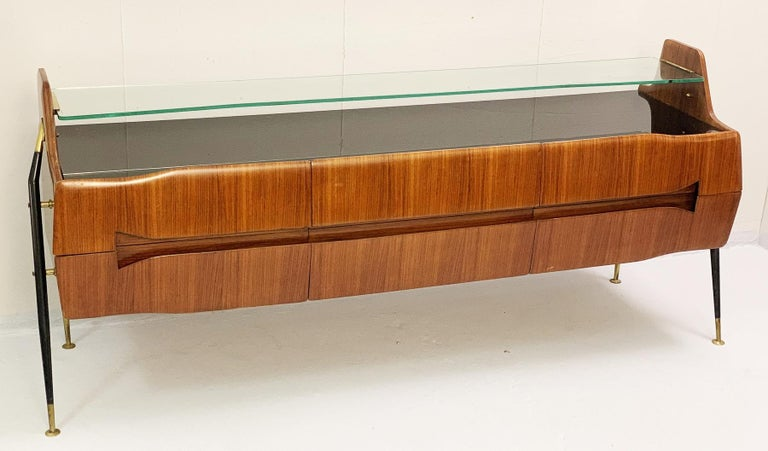Italian sideboard/long chest of drawers.