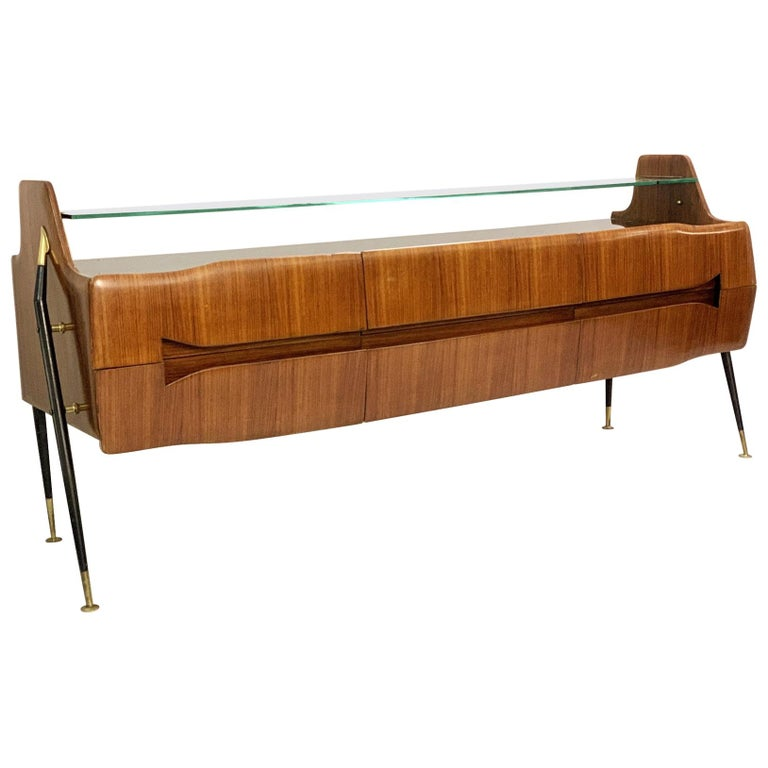 Italian Sideboard/Long Chest of Drawers For Sale