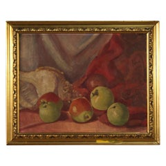Italian Signed Still Life Painting, 20th Century