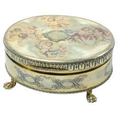 Italian Silver Box ' Jeweler '