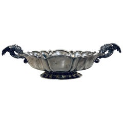 Italian Silver Centerpiece with Handles