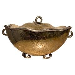 Italian Silver Sugar Pot, circa 1930s