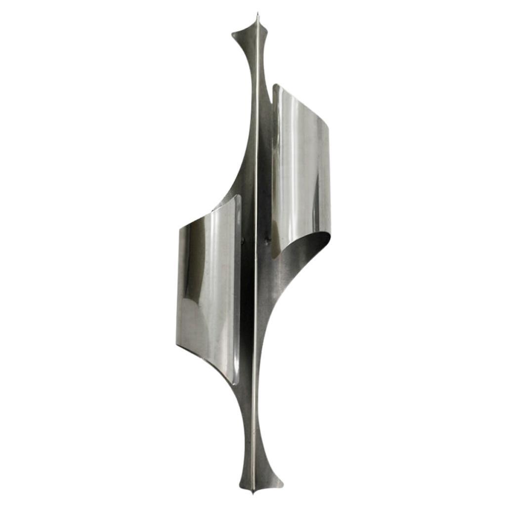 Italian Single Sconce Designed by Reggiani