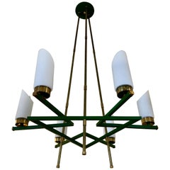 Italian Six-Arm Chandelier