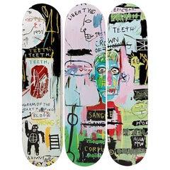 Italian Skateboard Decks after Jean-Michel Basquiat