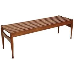 Italian Slatted Bench