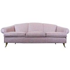 Italian Sofa, 1950s, New Upholstery