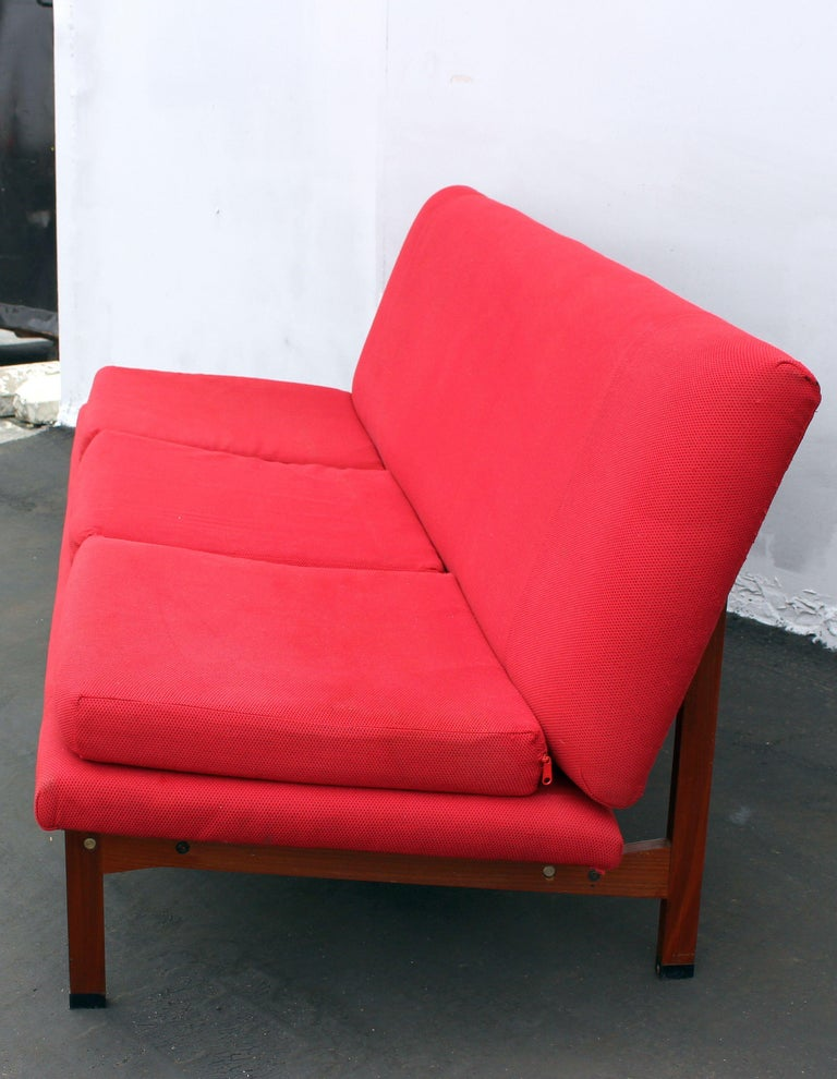 European Italian Sofa and the Chair by Ico Parisi for Mim Roma For Sale