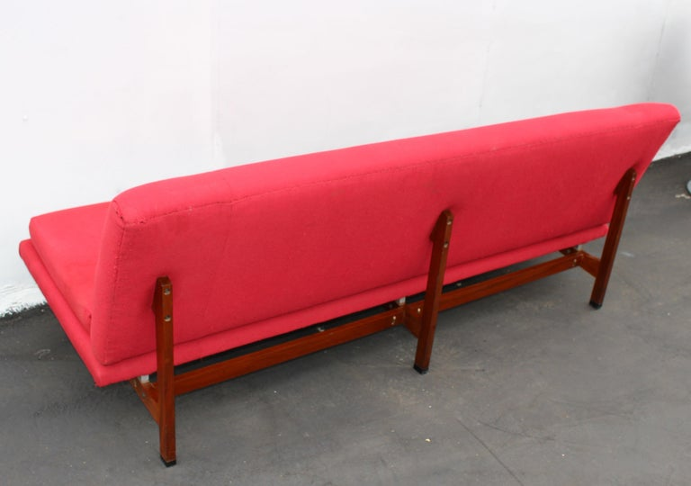 Italian Sofa and the Chair by Ico Parisi for Mim Roma In Good Condition For Sale In Los Angeles, CA