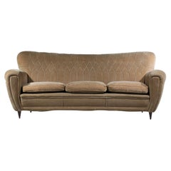 Italian Sofa Attributed to Gio Ponti Design