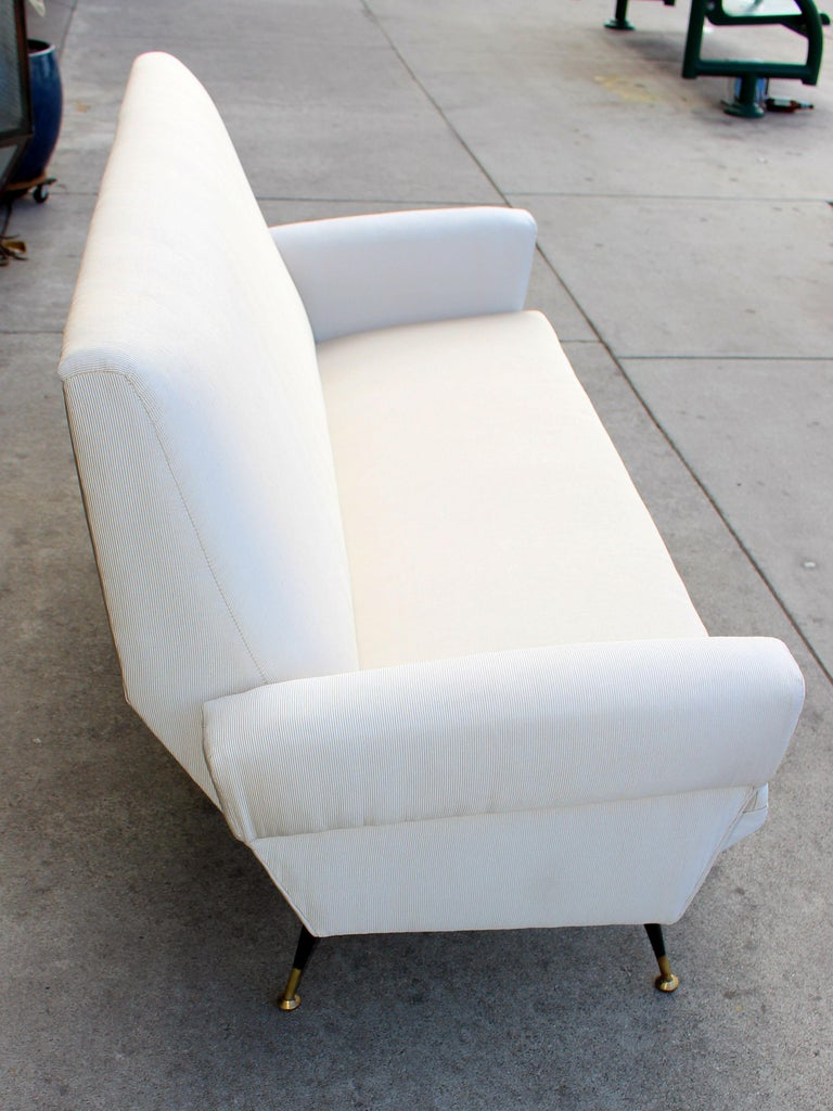 Mid-Century Modern Italian Sofa For Sale