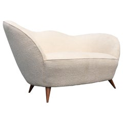 Italian Sofa in the Style of Gio Ponti, 1950s
