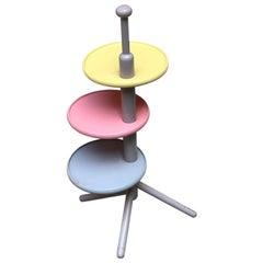 Italian Solid Wood Coffee Table, by Toshiyuki Kita, Produced by Bernini, 1967