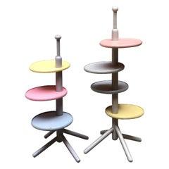Italian Solid Wood Coffee Tables, by Toshiyuki Kita, Produced by Bernini, 1967