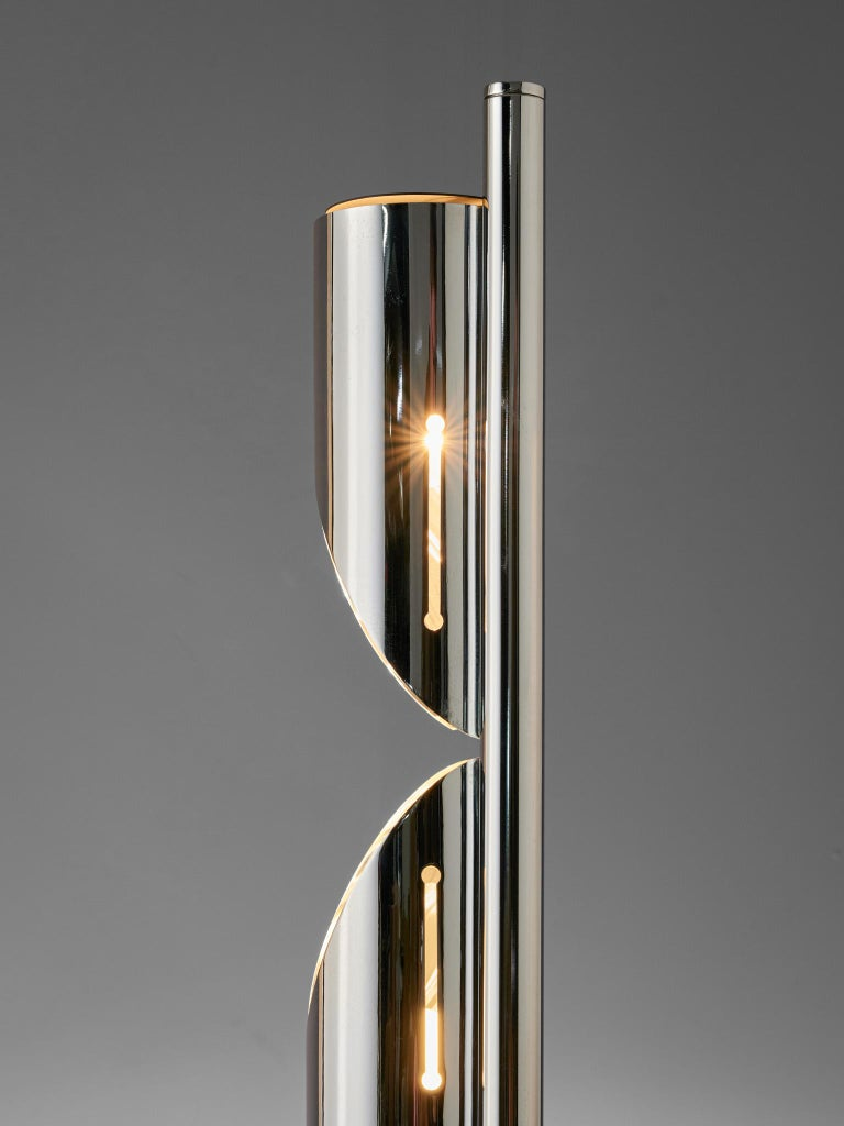 Late 20th Century Italian Space Age Table Lamp by Luci, 1970s For Sale