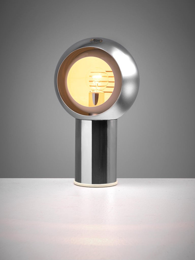 Mid-20th Century Italian Space Age Table Lamp by Oma, 1960s For Sale