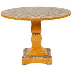 Italian Specimen Marble Table