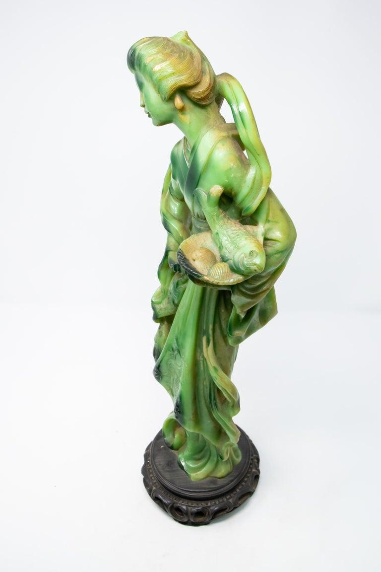 Italian Standing Geshia on Base For Sale 4