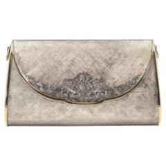 Italian Sterling Evening Bag Clutch By Marchi Leonello
