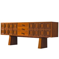 Italian Structured Grand Sideboard in Oak