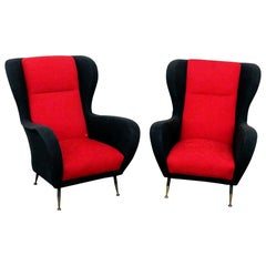 Italian Style Lounge Chairs