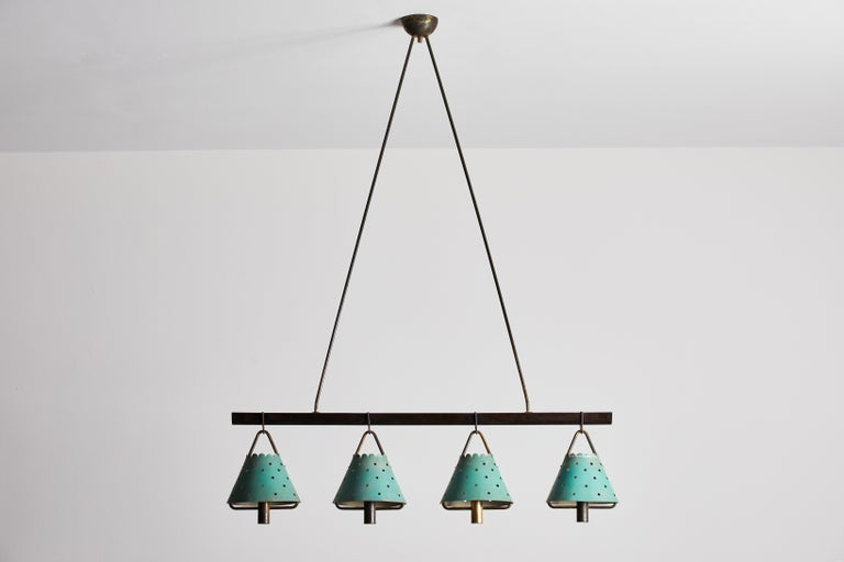Italian Suspension Light In Good Condition For Sale In Los Angeles, CA