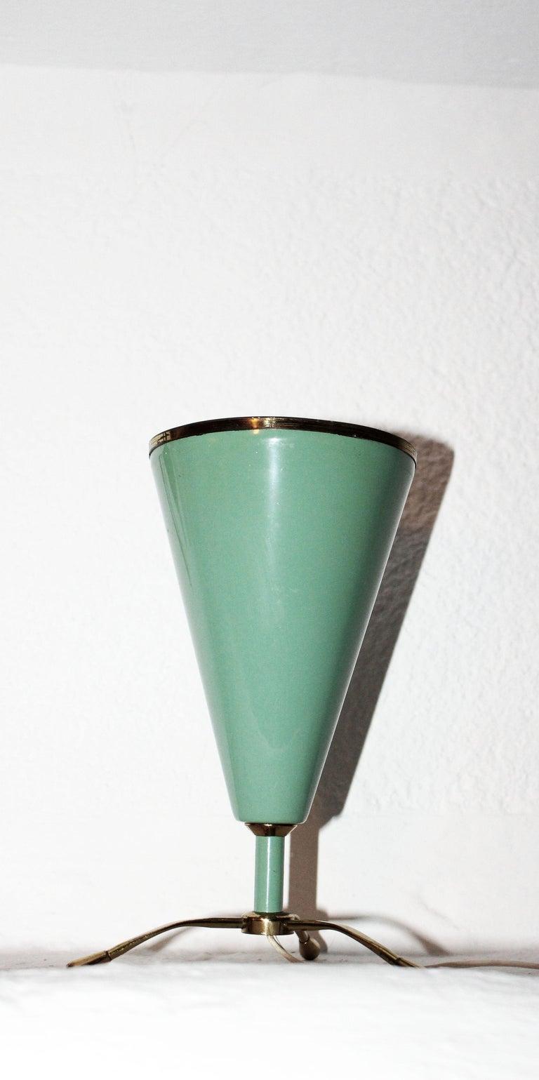 Italian desk lamp in the style of Stilnovo.