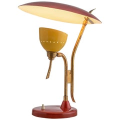 Italian Table Lamp by Lumen, 1950s