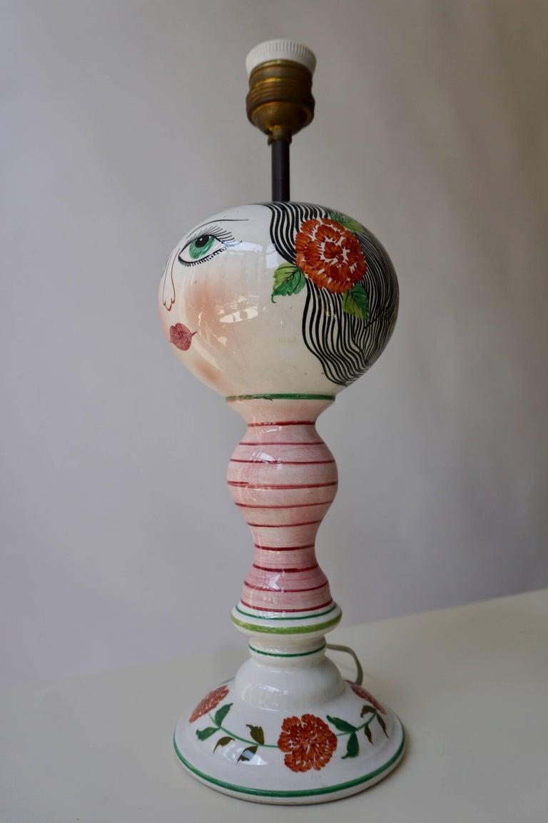 Mid-Century Modern Italian Table Lamp For Sale