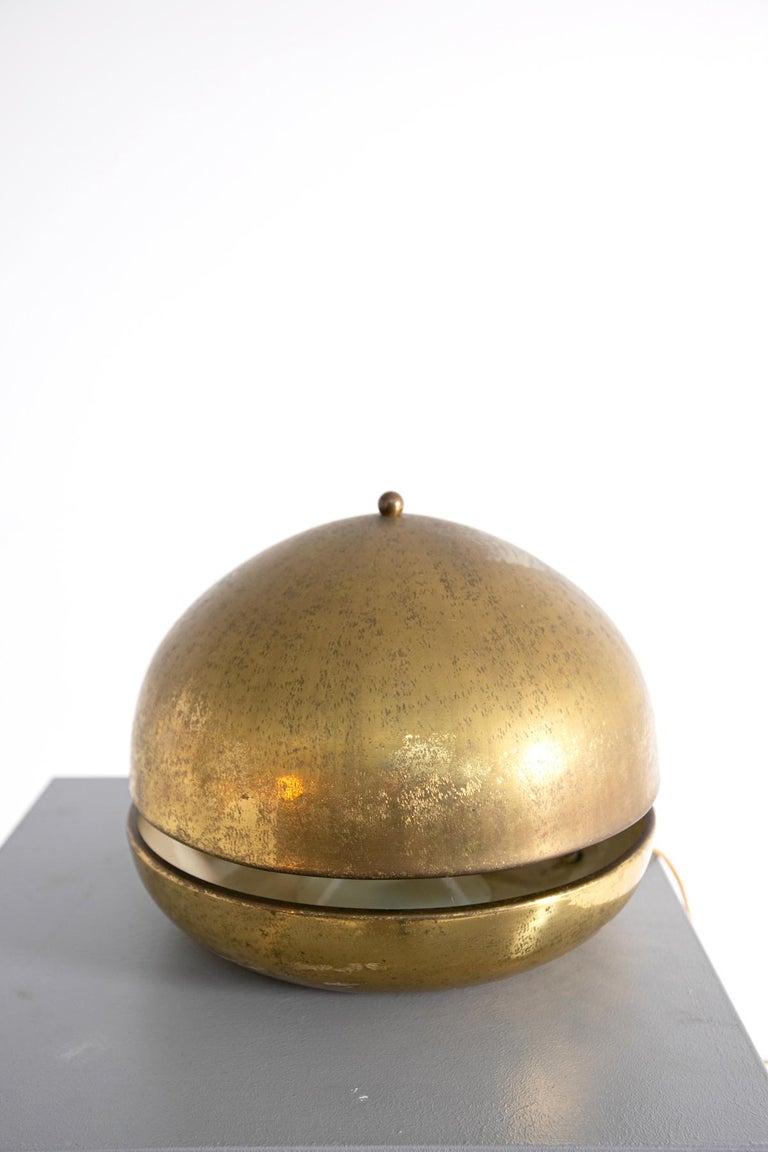 Mid-Century Modern Italian Table Lamp in Brass, 1960s