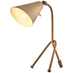 Italian Table Lamp in Brass
