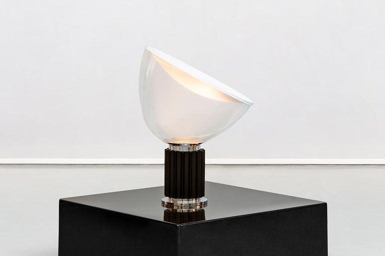 Mid-Century Modern Italian Taccia Lamp by Achille & Pier Giacomo Castiglioni for Flos, 1962 For Sale