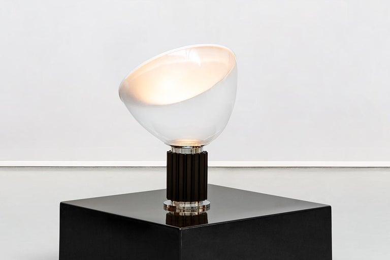 Mid-20th Century Italian Taccia Lamp by Achille & Pier Giacomo Castiglioni for Flos, 1962 For Sale