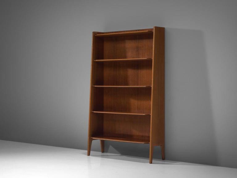 Italian Teak Bookcase, 1960s In Good Condition For Sale In Waalwijk, NL