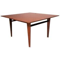 Italian Teak Wood Coffee Table by Vittorio Dassi with Edmondo Palutari, 1960s