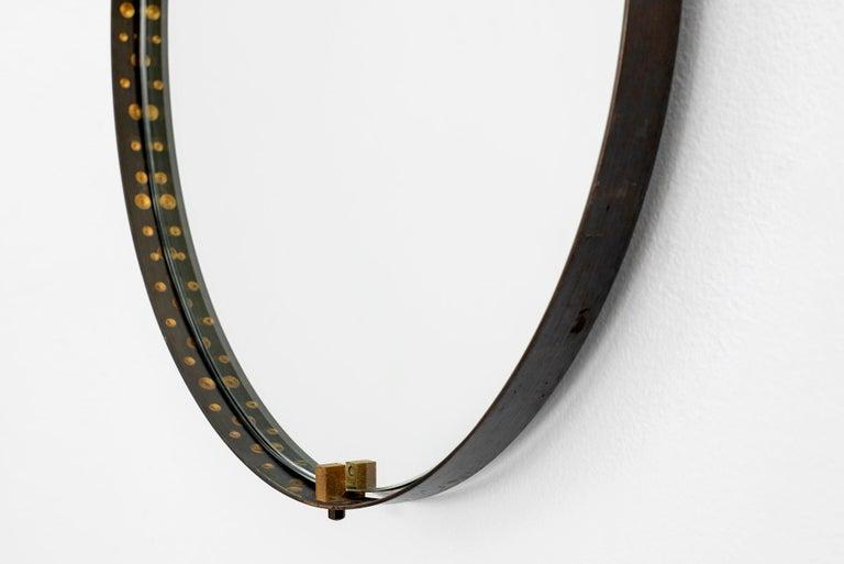 Mid-20th Century Italian Teardrop Mirror For Sale