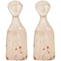 Italian Terracotta Anthropomorphic Sculptures