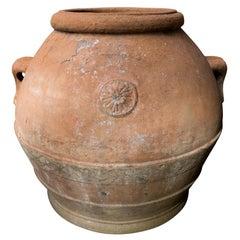 Italian Terracotta Urn from Tuscany, circa 19th Century